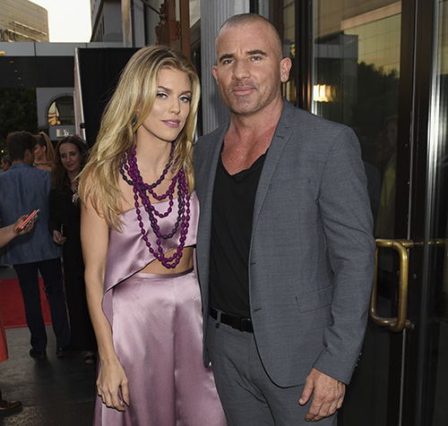 AnnaLynne McCord and Dominic Purcell. Photo Credit: Michael Bezjian
