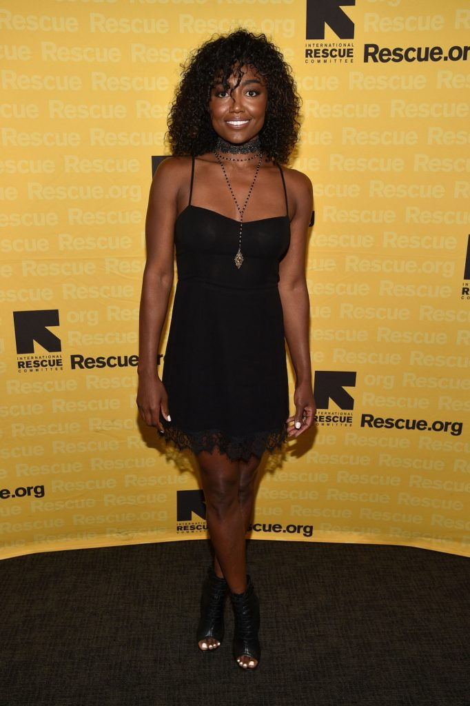 Patina Miller attends the 2016 International Rescue Committee GenR Summer Party. Photo Credit: Getty Images