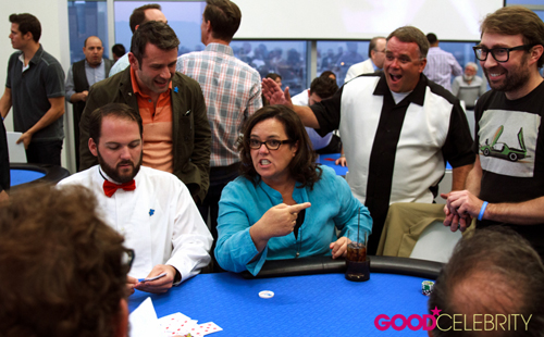 Rosie O'Donnell at the 4th Annual Ed Asner and Friends Poker Tournament and Celebrity Casino Night on Saturday (August 6).